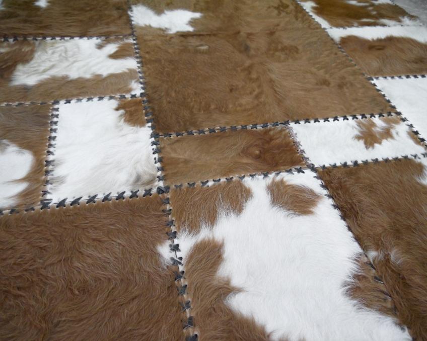 Kohud matta brun / vit